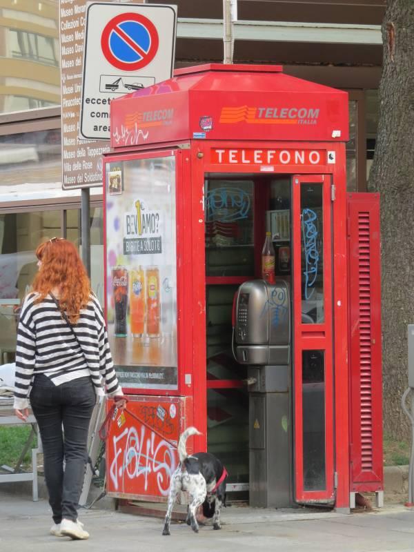 Wie lange wird es noch Telefonzellen geben?